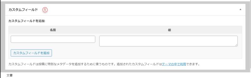 WoPressの追加パネルメニュー